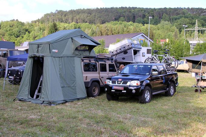 Maßgefertigt Zelt für Geländewagen